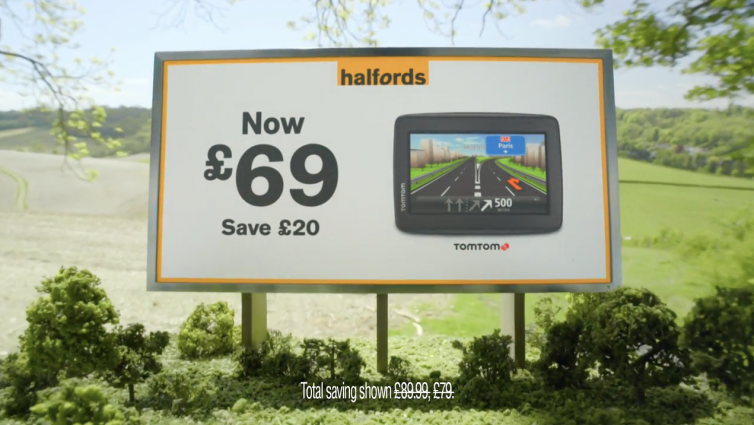 TV Commercial: Halfords