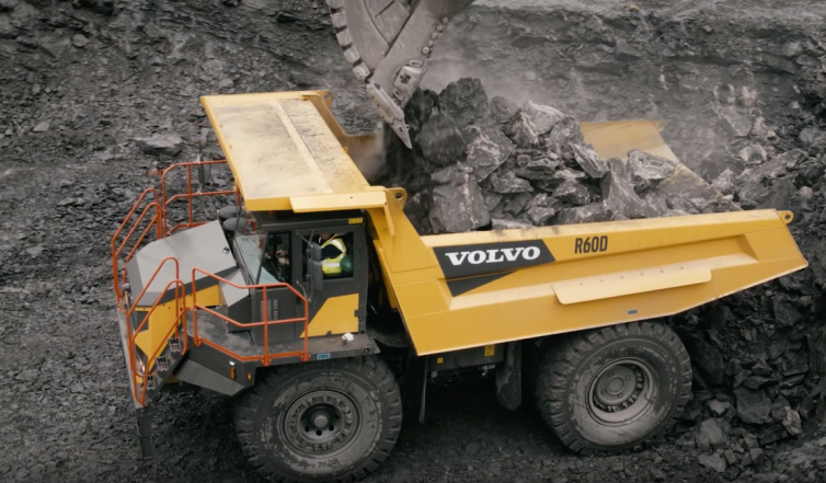 Volvo Construction Equipment – R60D Rigid Hauler