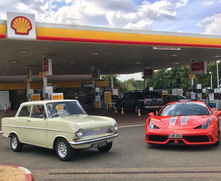 Shell – The Perfect Drive: Hammond vs. May ft. Vettel